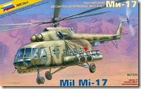 Soviet Mil Mi-17 Military Helicopter